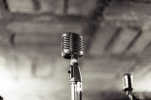 Using a microphone? Hire a speech writing service.
