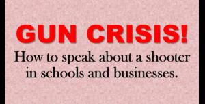Gun Crisis Speaking
