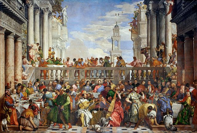 The Wedding at Cana by Paolo Veronese, 1563